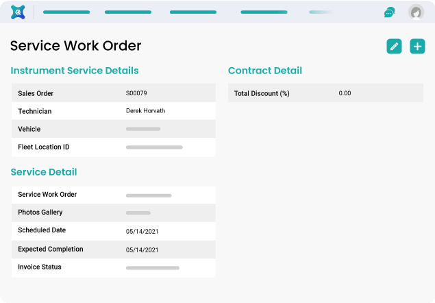 A Complete Solution for Service Work Orders