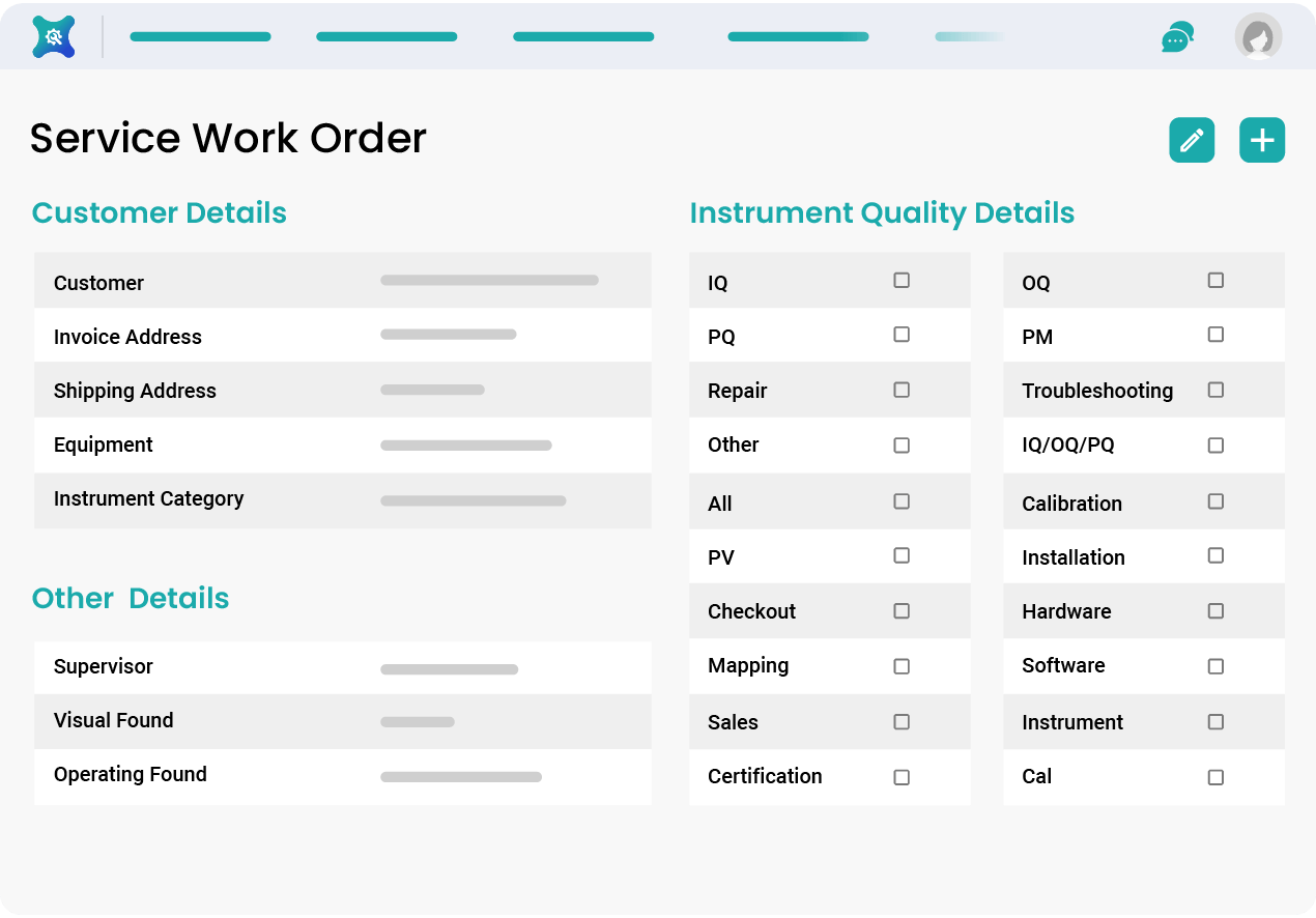 Features that Streamline Service Work Orders