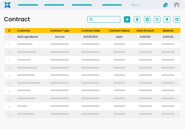 Manage Contracts with ServiceXpand