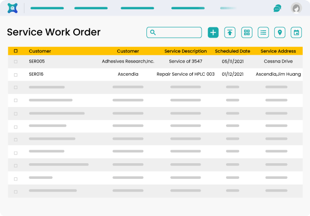 Easy Maintenance and Order Placement